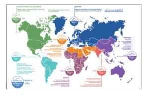 世界の糖尿病患者数