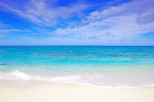 1型糖尿病と海と海岸